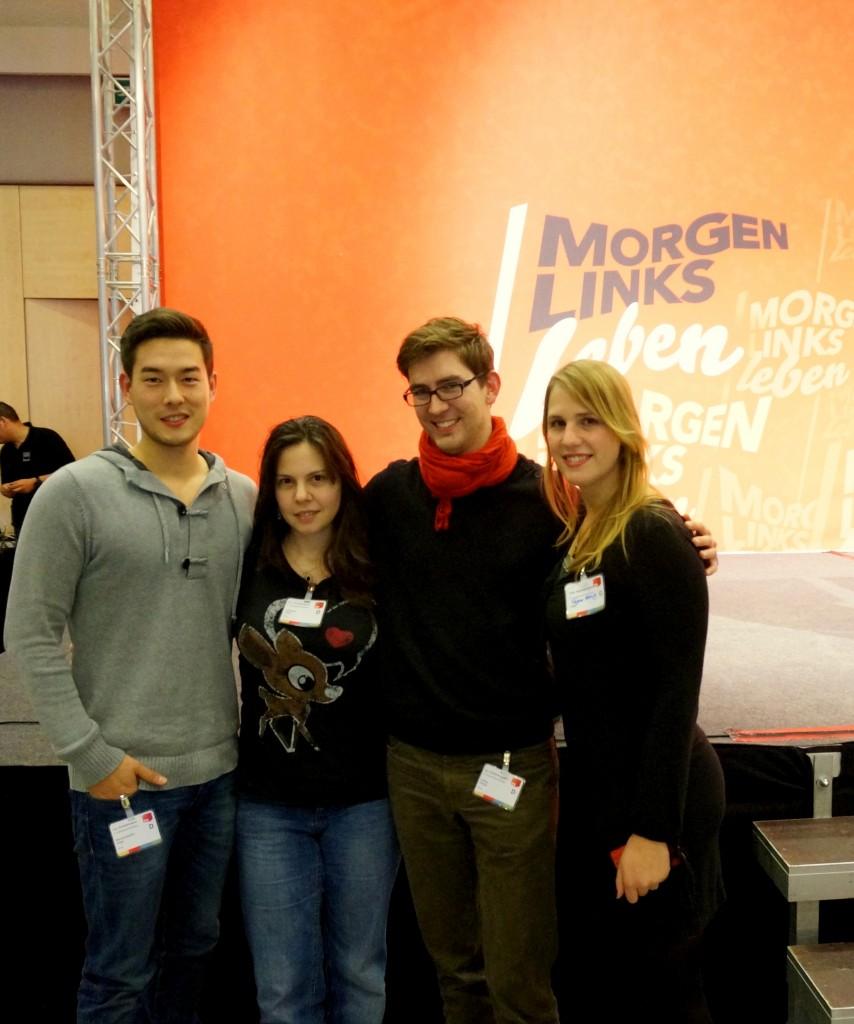 Marcel Hopp, Franziska Jahnke, Fabian Fischer, Rejane Herwig